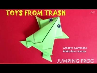 Jumping Frog | Gujarati | Fun with Paper