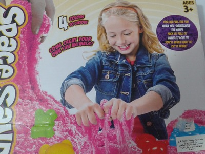 Kinetic Sand Magic - Play Set  Moulds Childrens - fun for Kids