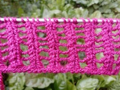Lace Stitch | Easy Knitting