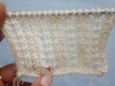 Lace Stitch   Knitting Pattern