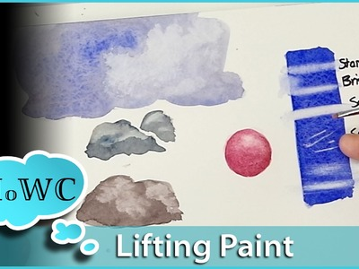 Lifting and Removing Watercolor Pigment – Tips and Techniques