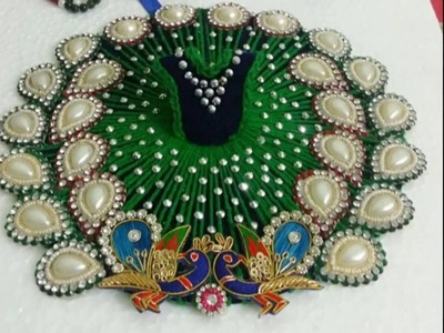 Make fancy and very easy dress for bal gopal.laddo gopal without any stitching with pasting only