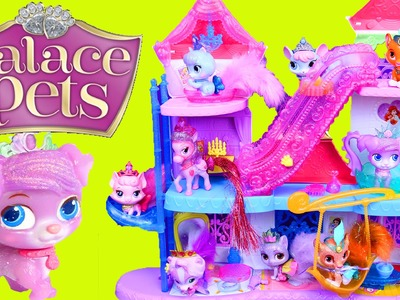 NEW Palace Pets Magical Lights Pawlace 2015 Castle Pet House & Disney Princess Puppy & Kittens
