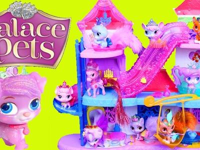 NEW Palace Pets Magical Lights Pawlace 2015 Castle Pet House & Disney Princess Puppy & Kittens