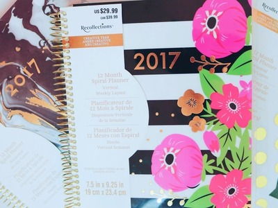 *NEW* Recollections Creative Year 2017 Planner Review and Flip Through