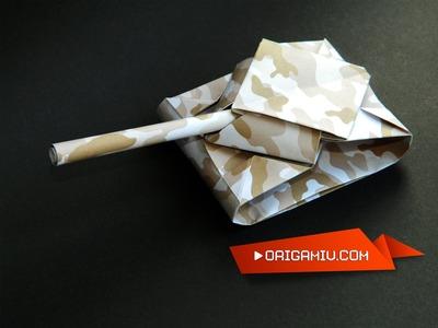 Paper Tank - Origami