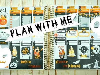 Plan with Me. Halloween ft. Planning World. Erin Condren