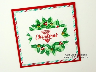 Stampin' Up! 2016 Holiday Card Series Day 5 - Hang your Stockings