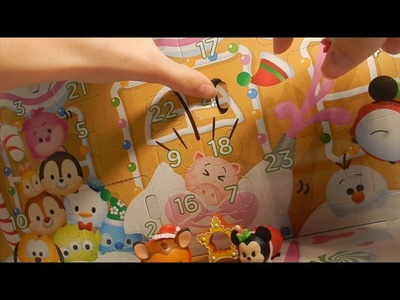 Tsum Tsum Advent Calendar Day 4- Countdown To Christmas