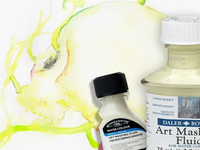 Watercolor Masking Fluid TIPS + TRICKS