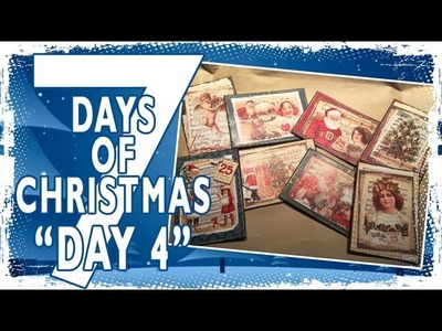 7 Days of Christmas - 8 Quick Cards - Day 4