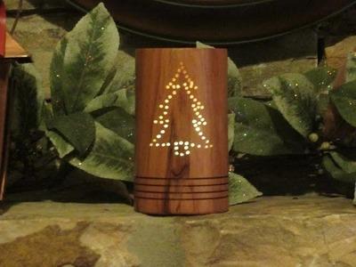 A Christmas Tea Light Holder