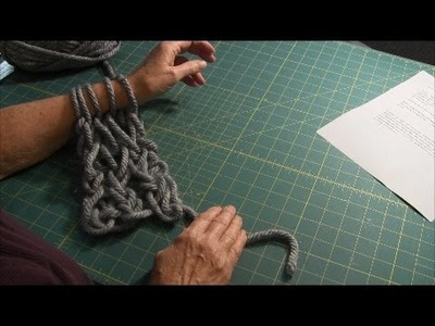 Arm Knitting (Part 1) - Casting On