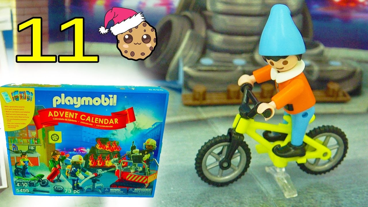 Bad Elf  - Playmobil Holiday Christmas Advent Calendar - Toy Surprise Blind Bags  Day 11
