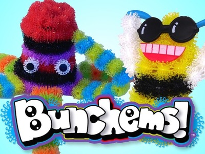 BUNCHEMS Mega Pack DIY How to Build Octopus & Bee - Kids' Toys