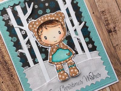 Christmas Card Process Video | Not2Shabby Design Team Project | CC Designs & MFT