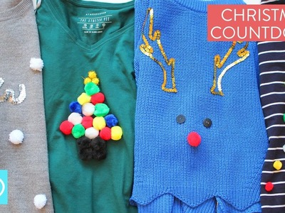 Christmas Jumper Ideas: Christmas Countdown with Channel Mum