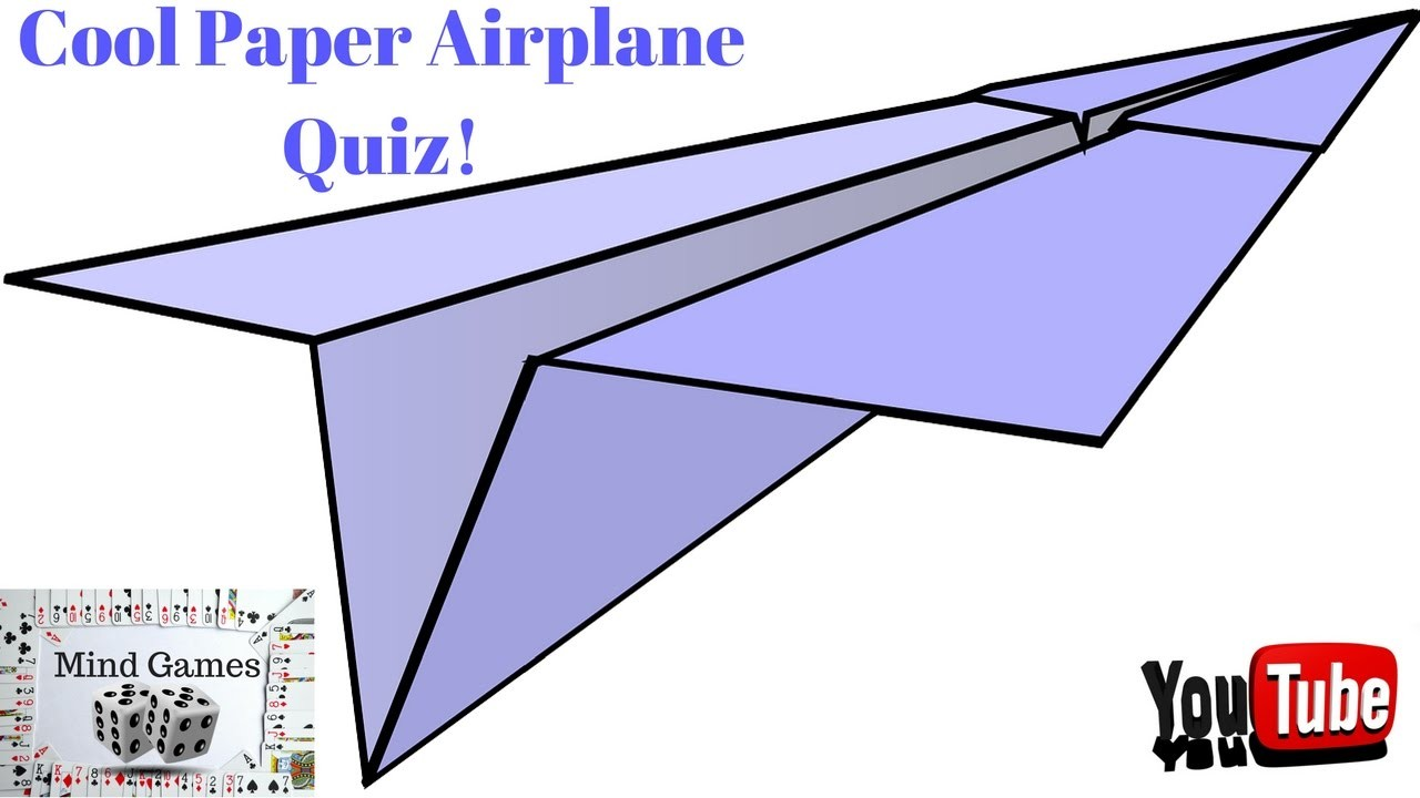 how to build a cool paper airplane