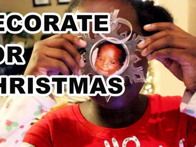 DECORATING CHRISTMAS TREE | December 7th 2016 | DNVlogsLife