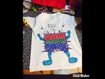 Diy 100 days of school shirt