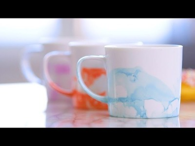 DIY a Marble Mug in 3 Easy Steps