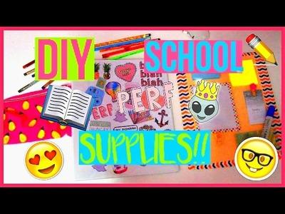 DIY BACK TO SCHOOL SUPPLIES~ #BTSWINSHIRAH