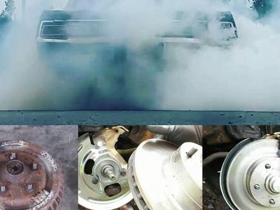 DIY budget drum to disc conversion, disk brake, Chevy pontiac buick chevelle nova camaro rat rod