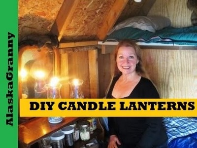 DIY Candle Lantern for Power Outages or Off Grid Living