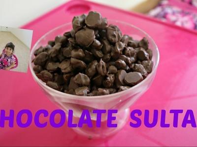 DIY Chocolate Sultana by Hanna and Mia