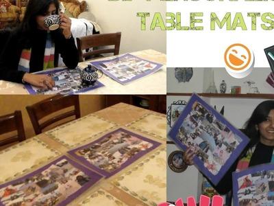 DIY Home Decor: Easy & Affordable DIY Table Mats