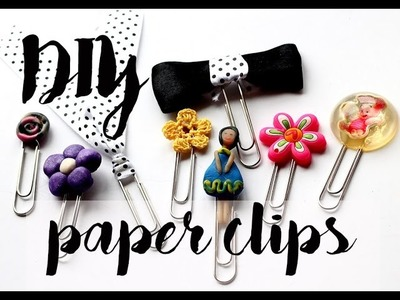 DIY Paper clips for planners - DIY Planner supplies