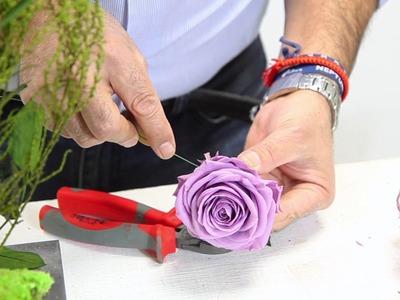 DIY: Project with Preserved Flowers and Plants - Proyecto con flores y plantas preservadas