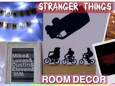 DIY Stranger Things Room Decor ~ Tumblr Fandom Room Decor ~ EASY & INEXPENSIVE