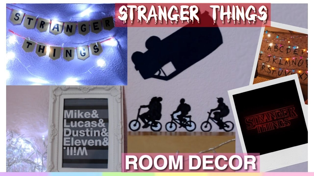 Stranger Things Room Decor
