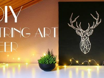 DIY - String Art Deer [Wall Art]