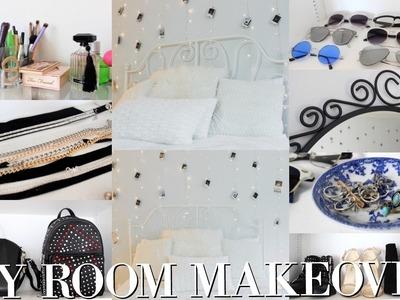DIY TUMBLR ROOM MAKEOVER!!