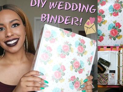 DIY Wedding Binder! | Affordable & Easy | TheHeartsandcake90