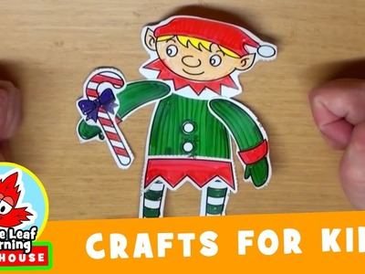 Elf Christmas Craft for Kids | Maple Leaf Learning Playhouse