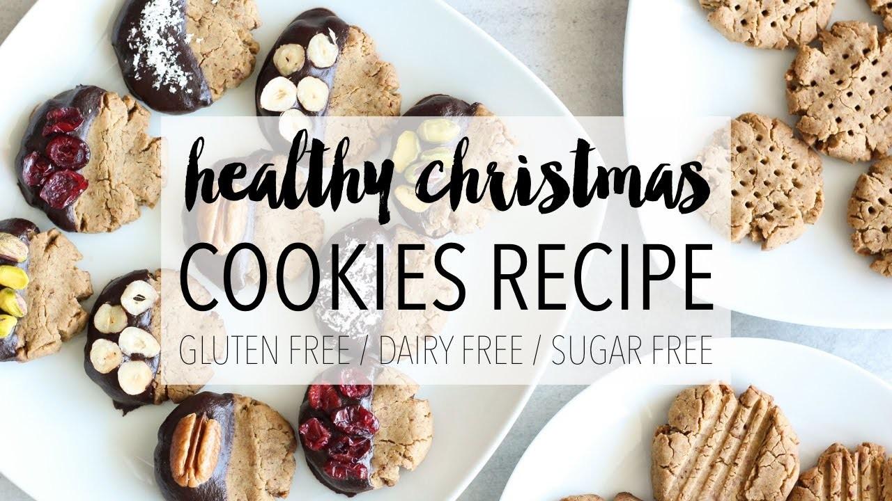 Healthy Christmas Cookies   Easy DIY Holiday Treats Recipe