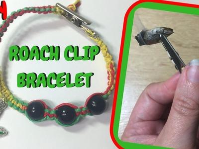 Hemp Roach Clip Bracelet - Stoney DIY