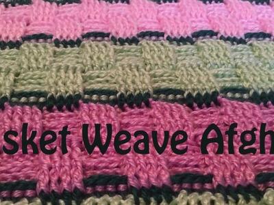 How to - Basket Weave Afghan