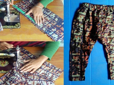 How to Cutting and Sewing Baby Slacks at Home by NT Fashion Point