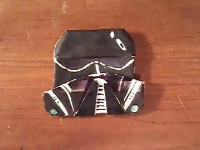 How to Fold an Origami Death Trooper!