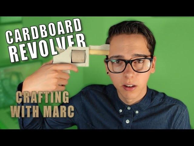 How to make a Cardboard Revolver - DIY