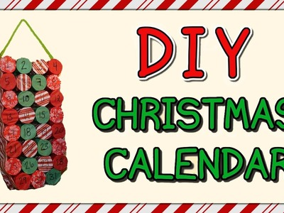 HOW TO MAKE A CHRISTMAS CALENDAR | MADE OUT OF TOILET PAPER ROLLS!