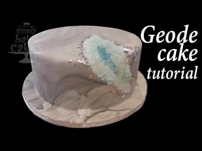 How to make a GEODE cake