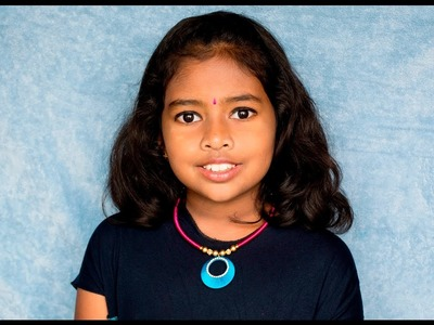 How to make a Silk Thread Necklace for kids