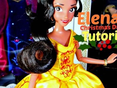 How to Make Elena's Christmas Dress | Tutorial | Elena of Avalor