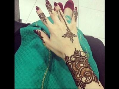How to make henna mehndi || Tattoo|| jewelry design.