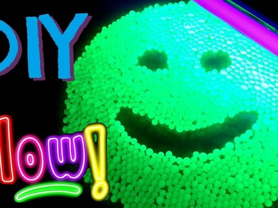 How to Make Orbeez Glow in the Dark with Blacklight - Easy DIY